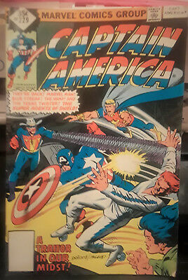 "Marvel Comics-""captain America"" Comicbook-Volume-1-Issue#229-Date:january 1979"