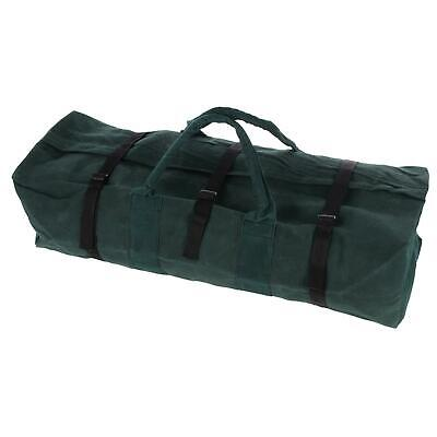 """SILVERLINE XL 30/"""" CANVAS TOOL BAG Extra Large Holdall Carry Storage Case"""