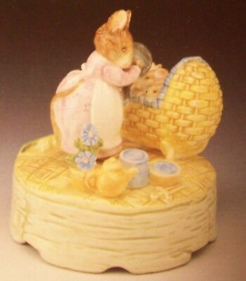 Music Box By Beatrix Potter New In Box =Tune Is Whistle While You Work