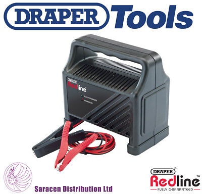 Draper Redline 12V Battery Charger - 82698