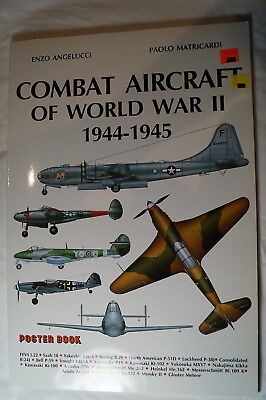 WW2 British German Russian US Combat Aircraft 1944 1945 Reference Book