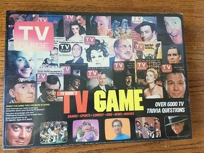 Brand New Factory Sealed Vintage TV Guide Game Trivia No 048
