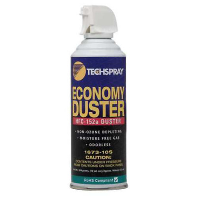 Techspray 1673-10S Economy Duster 10OZ HFC-152A Based