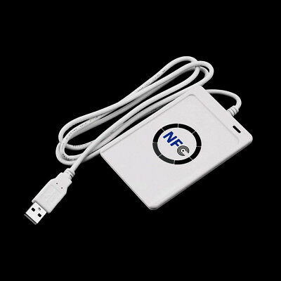 LC_ Built-in Antenna NFC RFID Contactless Smart Reader & Writer/USB 5Pcs IC Ca