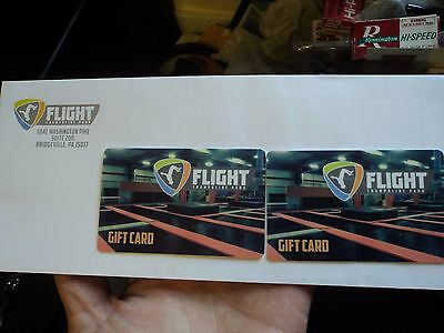 $50 Flight Trampoline Park Gift Card BRIDGEVILLE, PA FREE SHIPPING