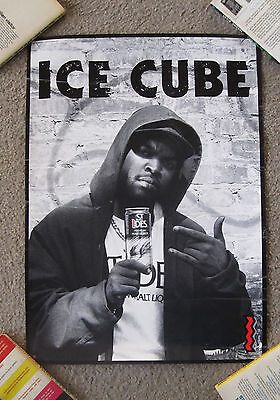 """RARE ICE CUBE/ST. IDES POSTER, (17"""" by 23 1/2""""), VG TO EX, EARLY '90S"""