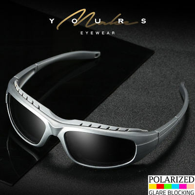 Polarized Anti Glare Padded Wind Resistant Sunglasses Motorcycle Riding Glasses