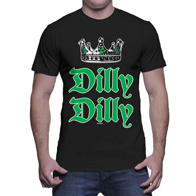 Dilly Dilly - St. Patricks Day Beer Pub Shamrock Clover Pint  Mens T-Shirt