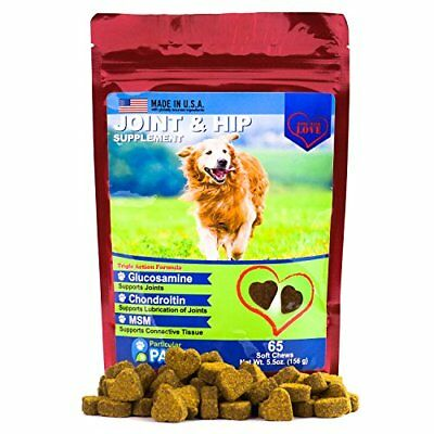 Glucosamine for Dogs - Treats - Joint & Hip Formula with MSM, Chondroitin