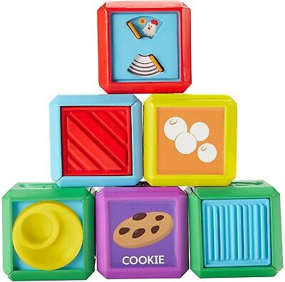 Fisher-Price Laugh and Learn First Words Food Blocks