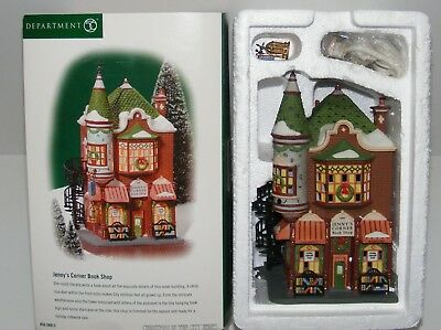 "Dept 56 Christmas in the City ""Jenny's Corner Book Shop"" #56.58912"