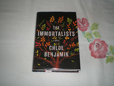 THE IMMORTALISTS by CHLOE BENJAMIN  *SIGNED*