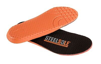 Steel Sole Puncture Resistant Insoles - Footwear Protection - NEW +FREE SHIPPING