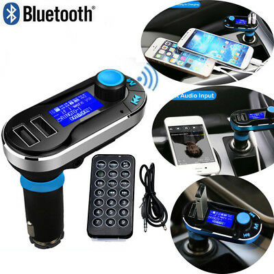 Wireless Bluetooth Car FM Transmitter Kit MP3 Player Radio Adapter USB Charger