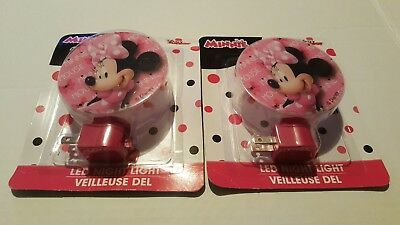 Disney Junior Minnie Mouse LED Night Light  NEW