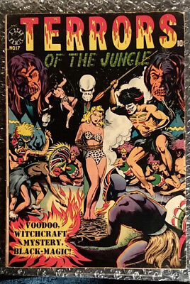 == TERRORS OF THE JUNGLE # 17 MAY 1952 = wild L.B.COLE c.= 1.8-2.5 cond. range =