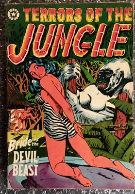 == TERRORS OF THE JUNGLE #7 1953 wild L.B.COLE = 3.5-4.5 cond. range ==