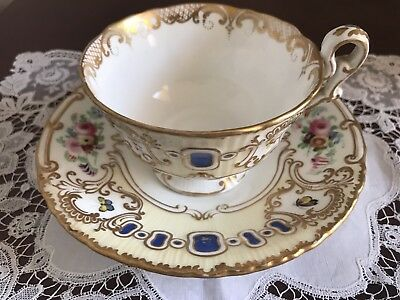Lovely Antique Spode Copeland Cup And Saucer