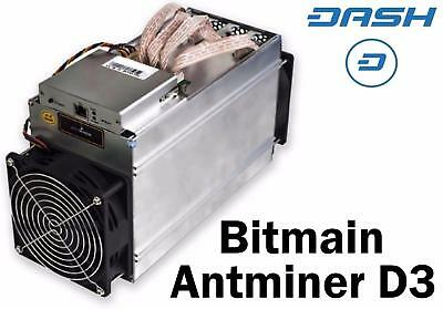 Antminer D3 X11 Mining Contract 6 hours 19GH/s