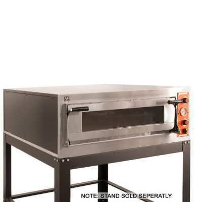 Italian Made Commercial 6 Series Single Deck/Pizza Electric Oven With Stone Base