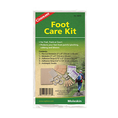 Coghlans Foot Care Kit - Moleskin Protects Feet From Blisters Etc (Cog 8043)