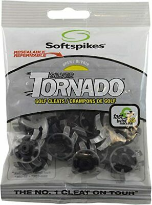 GOLF SPIKES - For FootJoy DNA 2.0 - TOUR LOCK TORNADO Golf Soft Spikes 18 Pieces