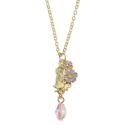 Rapunzel Tangled Necklace with bottle case Disney Store Japan Spring Jewelry F/S
