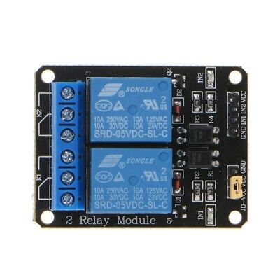 DC 5V 2 Channel Relay Switch Module For Arduino Raspberry Pi ARM AVR DSP