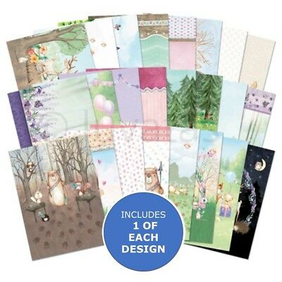 Hunkydory The Little Book of Foxy and Friends Sample Pack 24 Sheets x A6 150gsm