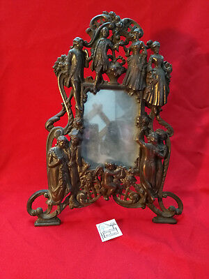Mirror Antique Frame Deco Character Vintage Ref25135