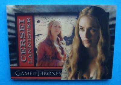 2012 Rittenhouse *GAME Of THRONES* Season 1 ShadowBox Card *CERSEI Lannister