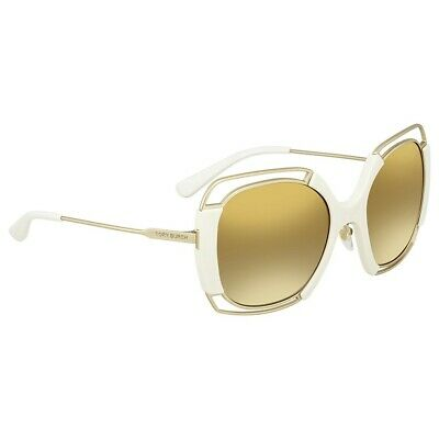 7f878863d5be5 Brand New 2018 Tory Burch Authentic Women Sunglasses TY 6059 32516E Gold  Frame S