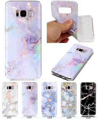 Fashion Ultra Slim Pretty Marble Patterned TPU Silicone Rubber Back Case Cover H