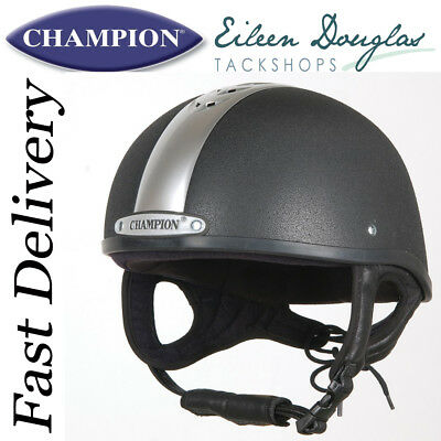 Champion Ventair Deluxe Skull Riding Hat Jockey Helmet
