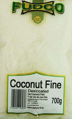 Fudco Fine Coconut Desiccated 700g