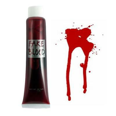 Sangue Finto Vampiro Halloween Costume Zombie Rosso Sangue Dracula Make Up