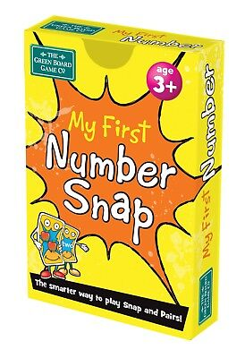 My First Number Snap + Pairs Card Game BrainBox - Maths Learning Resource