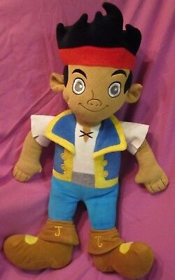 Disney's Jake and The Never Land Pirates/ Jake Soft Plush Toy 22 Inch