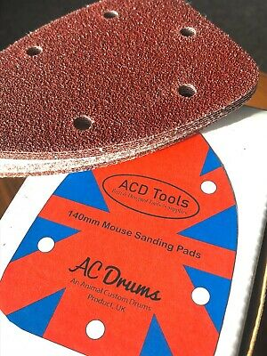 40 X Mouse Sanding Sheets Black & Decker Mouse Palm Sander Sandpaper