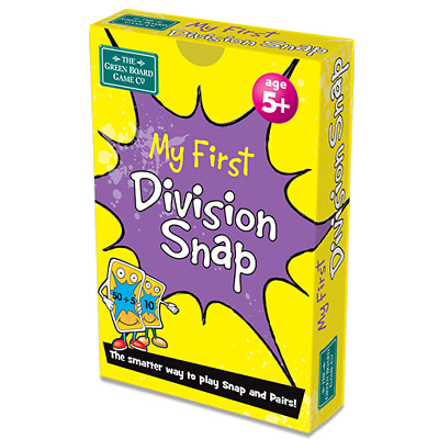 My First Division Snap + Pairs Card Game - BrainBox - KS1 Maths Learning