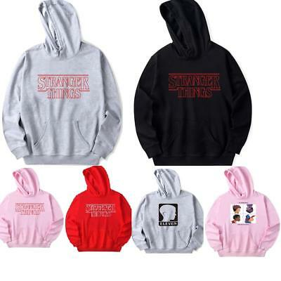Stranger Things Adult Hoodie Unisex Long Sleeves Sweatshirt Jumper Sweater Tops
