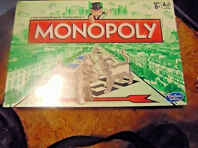 Monopoly Board Game 2013 W/ New Token ''The Cat'' Brand New & Sealed !!