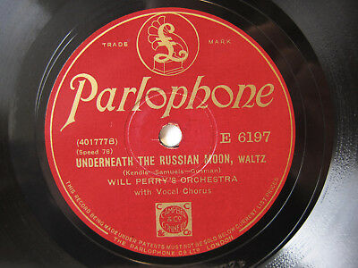 78rpm WILL PERRY'S ORCHESTRA - Breakaway Foxtrot - HOT-DANCE !