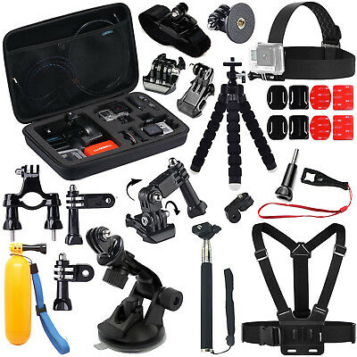 Action Camera Accessories Set Mounts for Gopro Xiaomi yi Sjcam sj6 Sony HDR AS15
