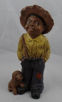 """As-Is All Gods Children 4.5"""" Tall """"toby"""" Martha Holcombe Figurine #85"""