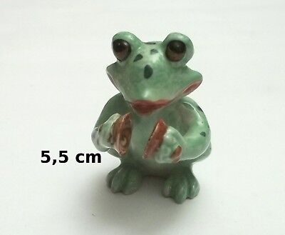 figurine grenouille musicien ,animal collection,frog  Gtp14-18