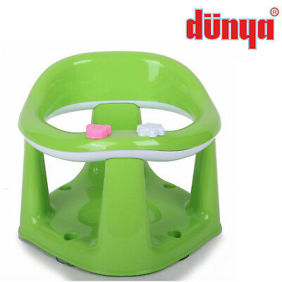 Green Baby Toddler Kids Bath Chair Infant Eat Bathing Food Support Play Seat New