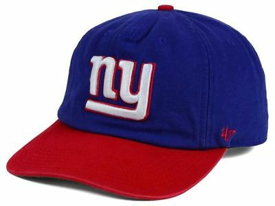 buy popular f35f9 ca555 New York Giants NY 47 Brand NFL Captains Marvin Adjustable Football Cap Hat