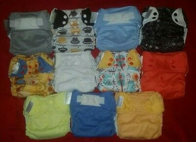 Bum genius-11 diapers: Freetimes and 4.0's+Extra Inserts to winning bidder+