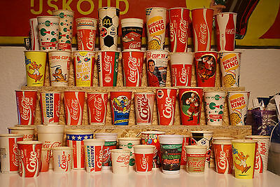 Coca Cola Collection Cups (50 + 1 free from 50's)